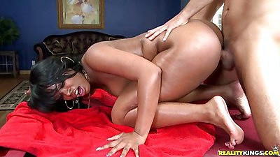 Voodoo ripping Vanesas hot round latina ass