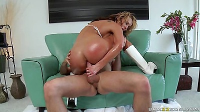 Doggy style anal penetration is Nikkis favourite