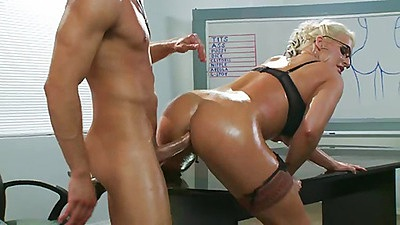 Sadie Swede fucked doggy style deep anal fuck