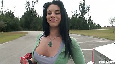 Outdoor picnic with super hot tight ass shorts