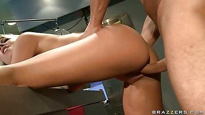 Dr Vegas gets doggy fucking penetration