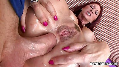 Deep anal with ass to mouth for Tiffany Mynx