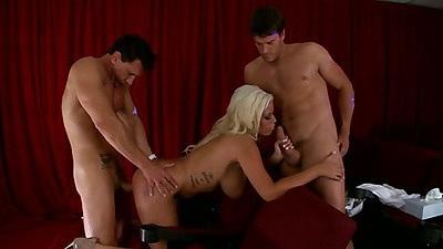 Bridgette B gets fuck in a threesome