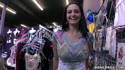 Ava Addams a horny milf looking for new porn video