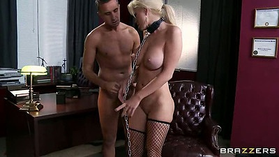 Bdsm office sex with big tits Alexis Ford