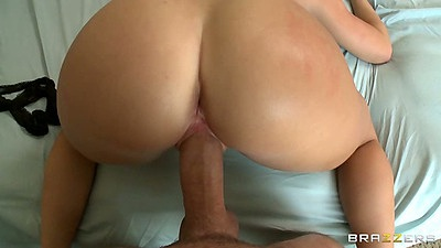 Latina Nikki Delano pov nice round ass doggy style and front fuck