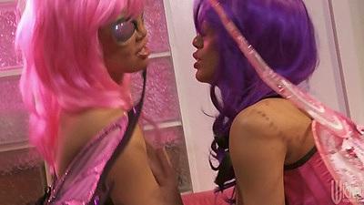 Hot lesbians sluts with big boobs Nicole Aniston and Mia Lelani