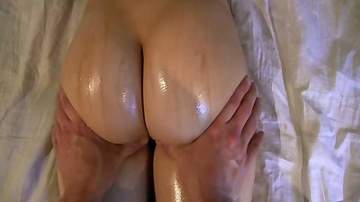 Nice oil massage with gf Aubreyexgf home video