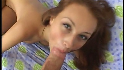 Pov blowjob with Dani Woodward sucking some dicks