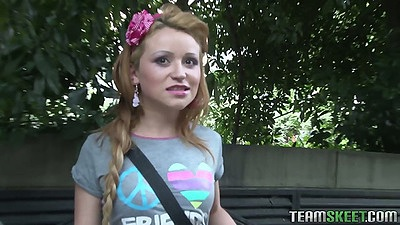 Teen Tatiana Garcia gets an interview and pick up