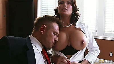 Milf Diamond Foxxx at teachers office