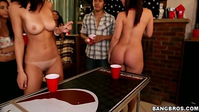 Natural tits teen college party with Jada Stevens and Remy LaCroix and Dillion Harper