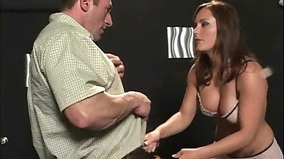 Big tits beautiful Katin sucking dick and cunt linked